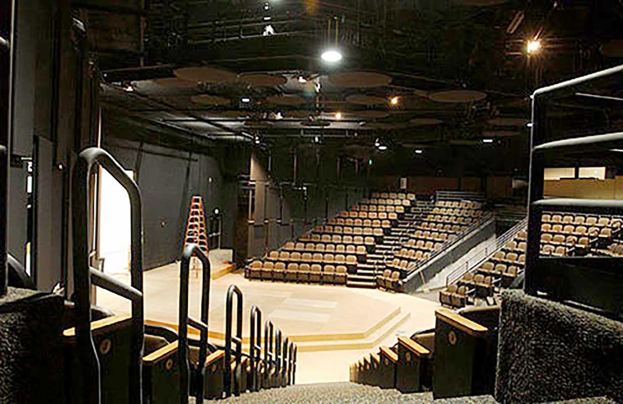stephens performing arts center, pocatello, idaho, slichter ugrin architecture