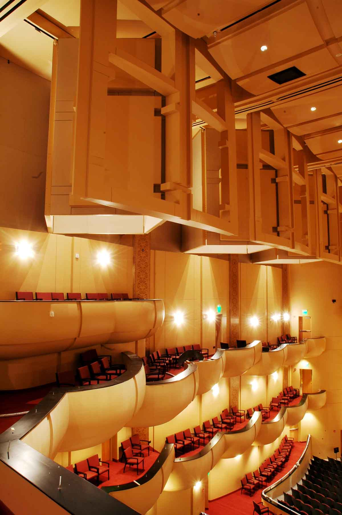 stephens performing arts center, pocatello, idaho, slichter ugrin architecture