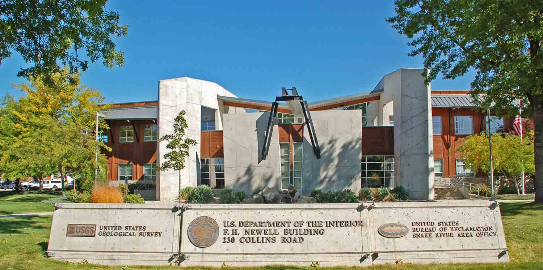 USDOI F H  Newell Building - Slichter | Ugrin Architecture